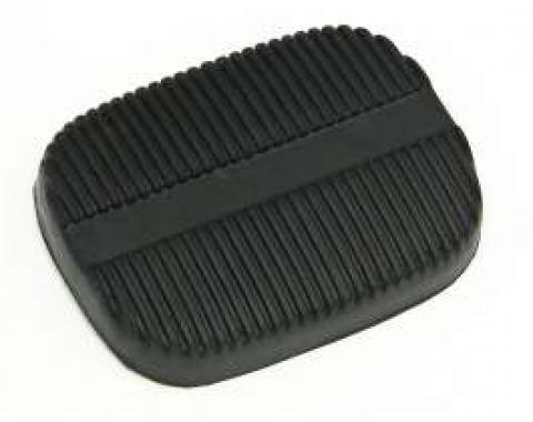 Full Size Chevy Brake Or Clutch Pedal Pad, Manual Transmission, 1958-1965