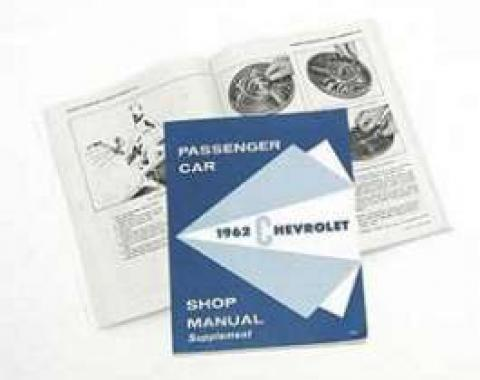 Full Size Chevy Shop Manual Supplement, 1962