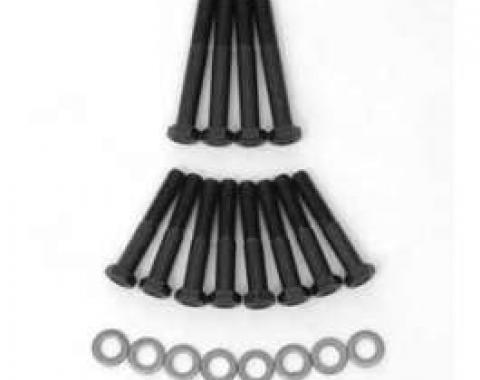 Full Size Chevy Exhaust Manifold Bolt Set, Small Block, 1958-1972