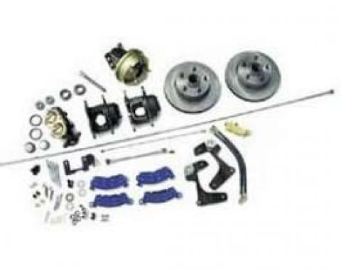 Full Size Chevy Power Front Disc Brake Kit, Complete, 1958
