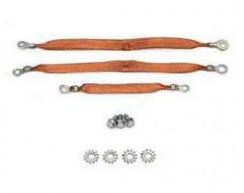Full Size Chevy Ground Wire Strap Kit, 1959-1960