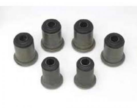 Full Size Chevy Control Arm Bushing Set, Rear, For Cars With Single Upper Control Arm, 1959-1964