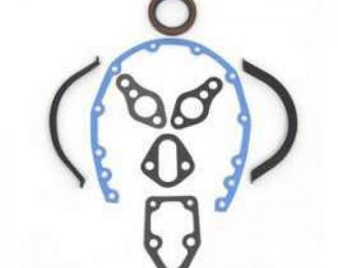 Full Size Chevy Timing Cover Gasket Set, Small Block,1958-1972