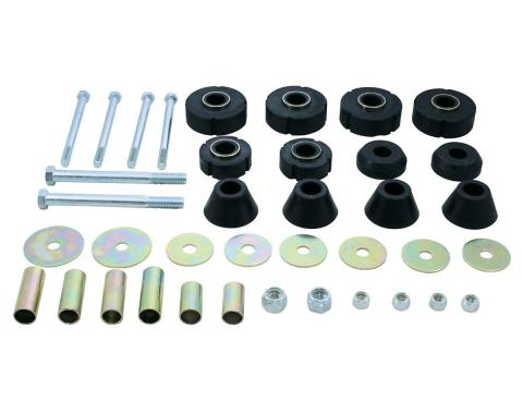 United Pacific Cab Mounting Kit For 1967-72 Chevy & GMC 1/2 Ton Truck C677204
