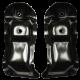 Key Parts '67-'72 V8 2wd Small Block Engine Perch Set 0849-743