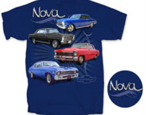 Nova T-Shirt, Metro Blue