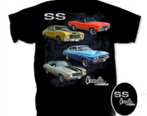 Chevelle SS,  T-Shirt, Black