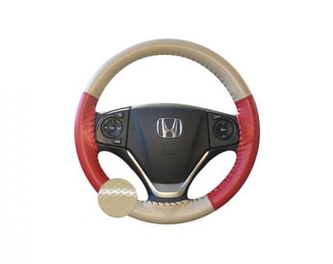 Wheelskins Genuine Leather Steering Wheel Cover, Europerf