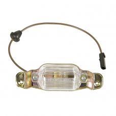 Camaro, License Lamp Assembly, Reproduction, 1967-1969