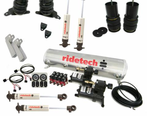 Ridetech Level 1 Air Suspension System for 65-70 Impala 11280198