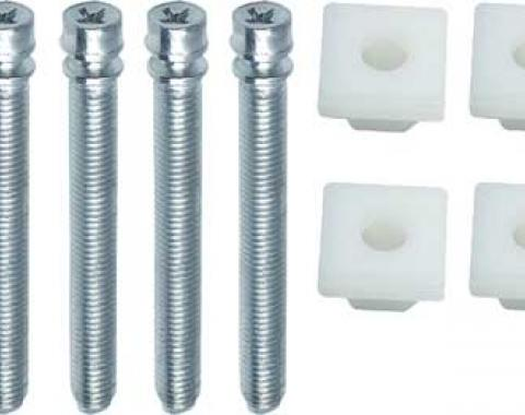 OER 1965-75 Impala / Full Size Headlamp Adjuster Screw And Nut Set *B1437