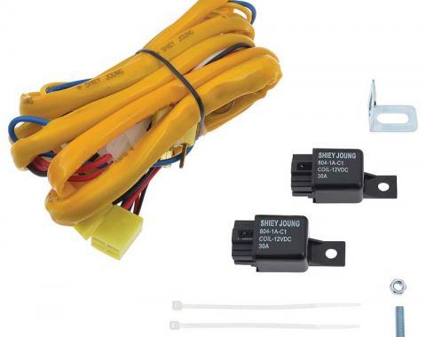 OER H4 - 4 Headlamp System Wiring Upgrade Set MX01133