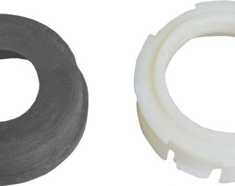 Lower Steering Column Seal & Non-Split White Retainer, 1971-1974