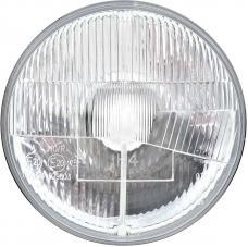 7'' Halogen Headlight Bulb Conversion with Classic Convex Lens