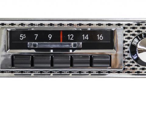 Custom Autosound 1955 Chevrolet Belair Slidebar Radio
